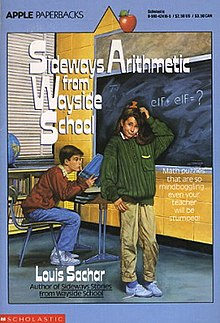 Sachar - Sideways Arithmetic From Wayside School Coverart.jpg