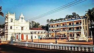Goa Velha - Saint Andrew's Church and School