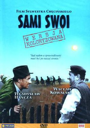 Sami swoi - DVD cover of color version