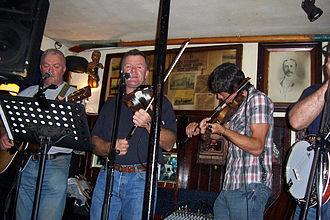 Sean's Bar - Music session at Sean's Bar, Athlone