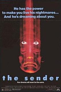 <i>The Sender</i> 1982 British horror film by Roger Christian