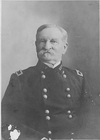 Samuel Whitside - Brig. Gen. S. M. Whitside at Santiago de Cuba, 10 Jun 1901, while serving as Commanding General of the District of Santiago