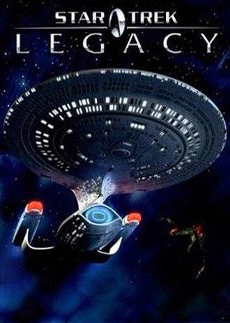 Star Trek: Legacy - Image: Star Trek Legacy Cover