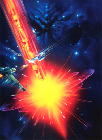 Star Trek VI: The Undiscovered Country - Theatrical release poster artwork by John Alvin
