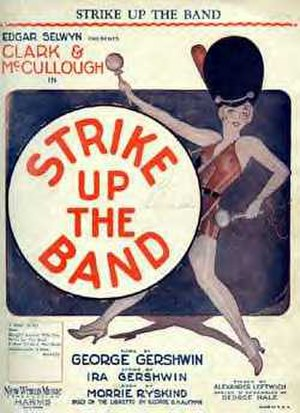 Strike Up the Band (musical) - Sheet Music