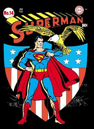 Golden Age of Comic Books - Image: Superman 14