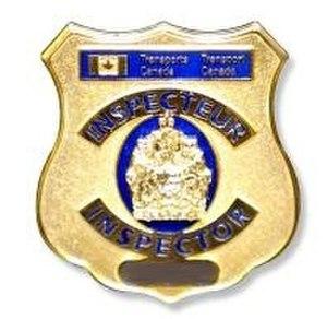 Transport Canada - Image: TC Inspector