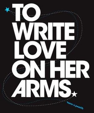To Write Love on Her Arms - Image: TWLOHA logo
