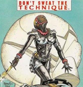 Hardware (comics) - Hardware's protege Technique, artist Jimmy Palmiotti