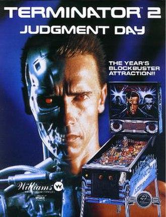 Terminator 2: Judgment Day (pinball) - Image: Terminator 2 Judgment Day (pinball)