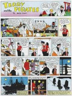 <i>Terry and the Pirates</i> (comic strip) comic strip