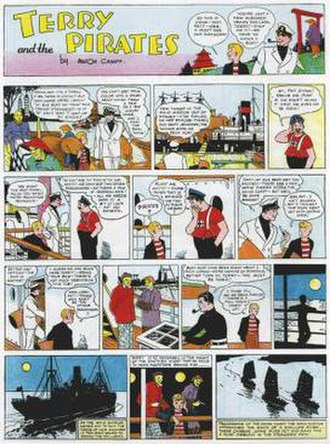 Terry and the Pirates (comic strip) - The first Terry and the Pirates Sunday page was launched on December 9, 1934.