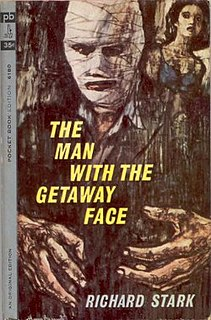 <i>The Man with the Getaway Face</i> novel by Donald E. Westlake