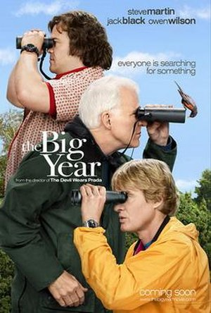 The Big Year - Theatrical release poster