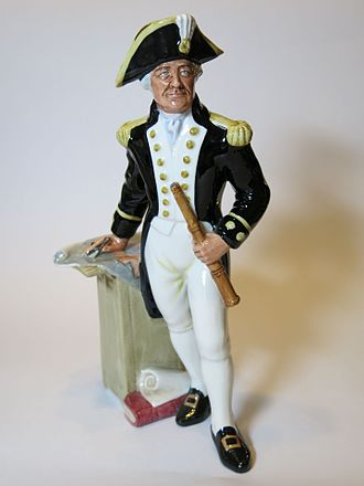 Captain (naval) - The Captain, a figurine by Royal Doulton
