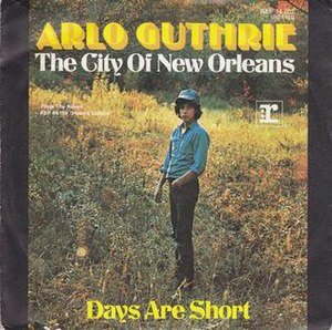 City of New Orleans (song) - Image: The City of New Orleans Arlo Guthrie