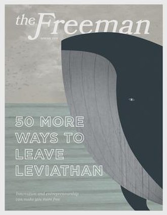The Freeman - Image: The Freeman Magazine Spring 2015 Cover