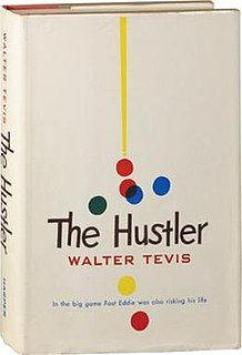 <i>The Hustler</i> (novel) American novel about gambling
