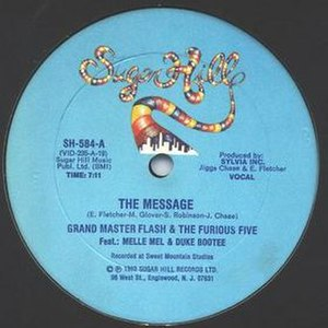 The Message (Grandmaster Flash and the Furious Five song) - Image: The Message GMF