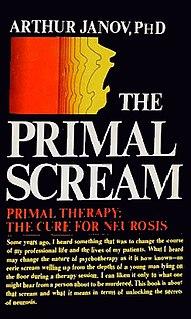 <i>The Primal Scream</i> 1970 book by Arthur Janov