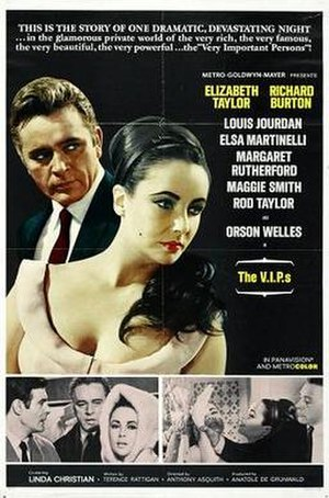 The V.I.P.s (film) - original film poster