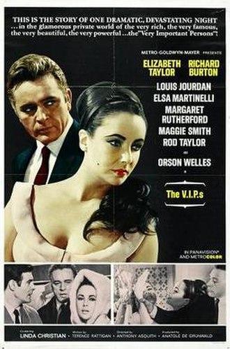 The V.I.P.s (film) - Original film poster