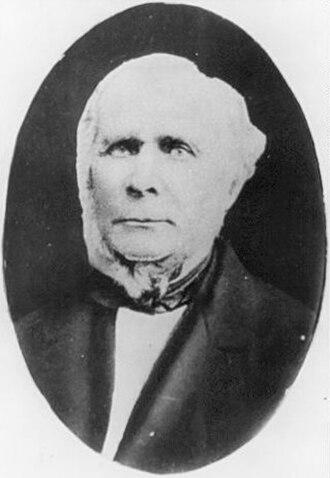 Thomas Henry Burrowes - Image: Thomas Henry Burrowes