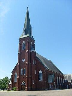 St. Simon & St. Jude Church (Tignish) Church in Prince Edward Island, Canada