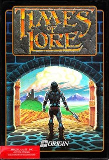 <i>Times of Lore</i> 1988 video game