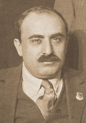 International Publishers - Alexander Trachtenberg in a picture taken in Moscow in the Fall of 1922.