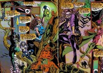 Harlequin (comics) - Image: UU Harlequins