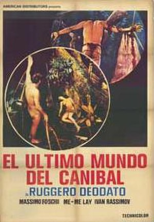 Ultimo mondo cannibale - Spanish theatrical poster