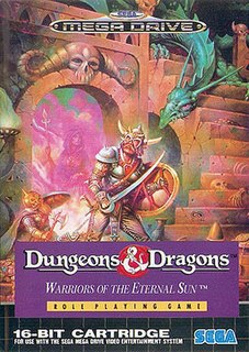 <i>Dungeons & Dragons: Warriors of the Eternal Sun</i> 1992 video game