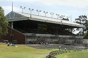 Arden Street Oval - 1928 Grandstand