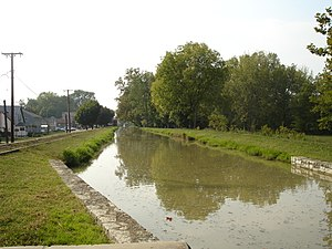 Whitewater Canal - Image: Whitewater Canal near Duck Creek Aqueduct