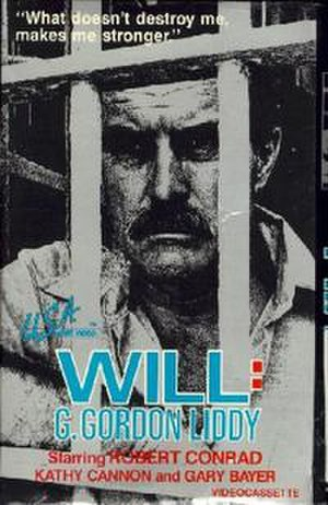 Will: G. Gordon Liddy - The video tape cover for Will.