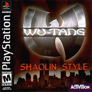 Wu-Tang: Shaolin Style - North American cover art