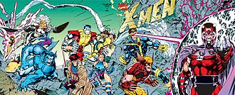 Modern Age of Comic Books - Image: Xmenjimlee