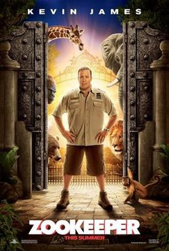 Zookeeper (film) - Theatrical release poster