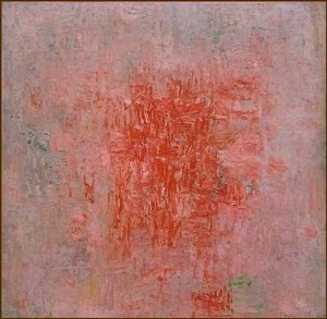 Philip Guston - Zone, 1953-1954, oil on canvas, The Edward R. Broida Trust, Los Angeles