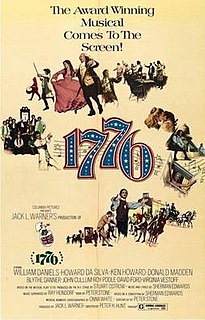<i>1776</i> (film) 1972 film by Peter H. Hunt