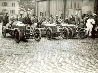 Grand Prix Sunbeams 1922