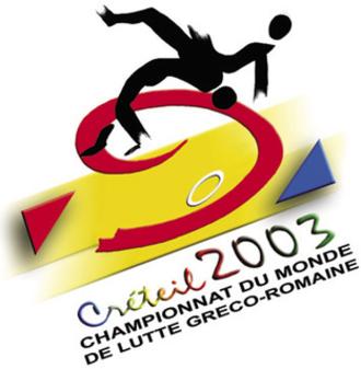 2003 World Wrestling Championships - Image: 2003 FILA Wrestling World Championships GR logo