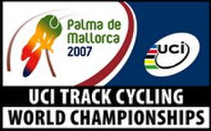 2007 UCI Track Cycling World Championships - Image: 2007 UCI Track Cycling World Championships logo