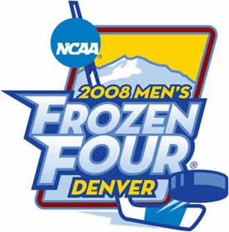 2008 NCAA Division I Men's Ice Hockey Tournament - 2008 Frozen Four logo