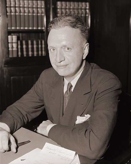 Democrat Francis E. Walter of Pennsylvania was chair of HUAC from 1955 until his death in 1963.