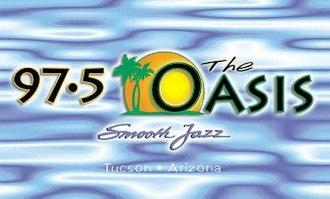 KSZR - Former logo under The Oasis branding