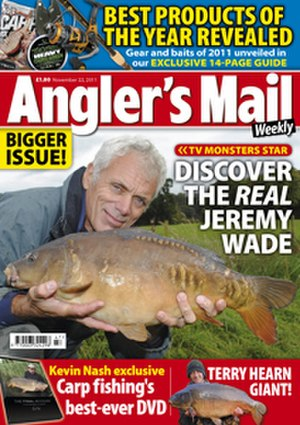 Angler's Mail - Cover of Angler's Mail, 10 May 2011.