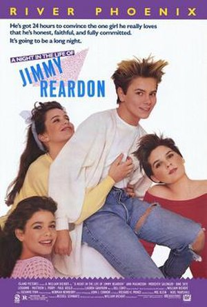 A Night in the Life of Jimmy Reardon - Theatrical release poster
