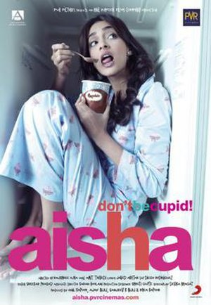 Aisha (film) - Indian poster